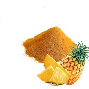 Organic pineapple fruit fine powder premium quality grade A pure natural Ceylon