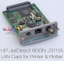 PRINTSERVER HP JETDIRECT 600N J3111-60002 LASERJET 4000 4100 2100 2300 J3111A