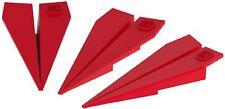 Fermaporta in silicone colorato per porte di casa a forma di aereo - 3 pezzi