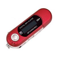 1x Portable Music MP3 Player USB Digital LCD Screen Support 32GB TF FM Radio TR