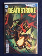 Deathstroke Annual # 2 DC Comics 2016 NM