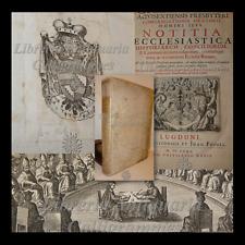 Jean Cabassut, NOTITIA ECCLESIASTICA STORIA DEI CONCILI 1680 Inquisizione Spagna