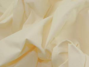 "96""/243cm Extra Wide Sheeting Curtain Lining Fabric - Cream - Per Metre"
