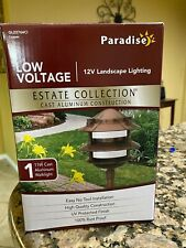 OUTDOOR PATH LIGHTS PARADISE GL22764CI, COPPER 4-PACK