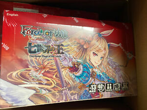 Alice Cluster Set 1 The Seven Kings of the Lands Booster Box [36 Packs]