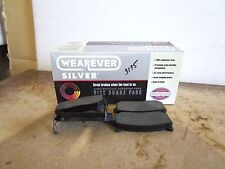 Wearever NAD775 Silver Rear Disc Brake Pad xref Remsa NAD775