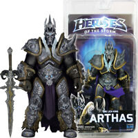 "NECA Arthas Lich King Heroes of Storm 7"" Action Figure 1:12 Blizzard Warcraft"