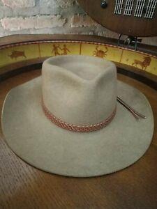 Akubra, Tipico Cappello Australiano, Vintage Lana Marino