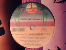 "JERMAINE STEWART We don't take our clothes off BALTIMORA Tarzan boy 12"" CANADA"