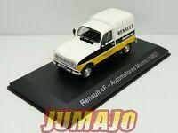 SER8G 1/43 SALVAT Vehiculos Servicios RENAULT 4F Automotores service 1982