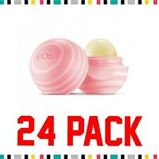 24 PACK OF EOS - EVOLUTION OF SMOOTH, Lip Balm Sphere, Visibly Soft Coconut Milk
