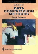 A Guide to Data Compression Methods (Springer Professional Computing) by Salomo