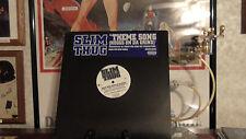 "SLIM THUG theme song (hoggs on da grind) 12"" RECORD"