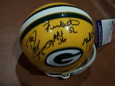 PACKERS TEAM SIGNED AUTOGRAPH MINI HELMET PSA/DNA JACKE BUTLER,WINTERS,DON BB