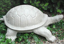 Riesige Schildkröte Statue Brunnen Wasserspeier 110cm  01099-a