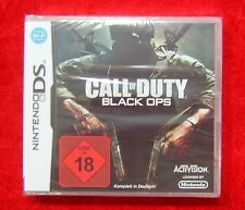 Call of Duty Black Ops, Nintendo DS USK 18 Spiel Neu, deutsche Version