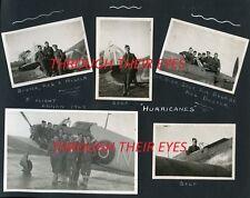NEW DVD OF ORIGINAL RAF AIRMAN WW2 PHOTO ALBUM 1941-46 RAF HURRICANES RAF ANNAN