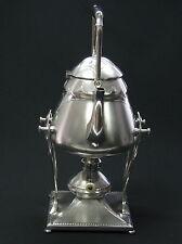 ANTIQUE ART NOUVEAU WMF TEAPOT TEA POT KETTLE STAND SPIRIT BURNER I/O 2 L x
