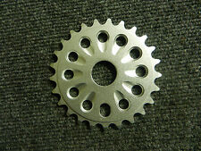 New silver 25 tooth alloy bicycle chain ring for 22 mm spindle cranks