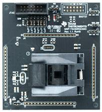TI MSP430 Target Board: MSP-TS430RGC64C, ZIF, Includes two MSP430F5229 IC