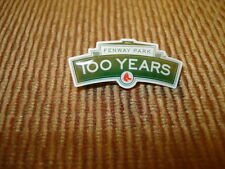 Red Sox 100 Year Fenway Park Lapel Pin..