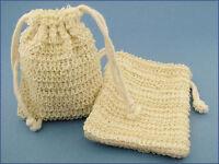Natural Fiber Mesh Soap Sack (Saver/Sock/Pouch/Holder)