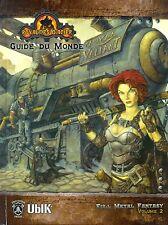 JDR RPG JEU DE ROLE / D20 ROYAUMES D'ACIER GUIDE DU MONDE