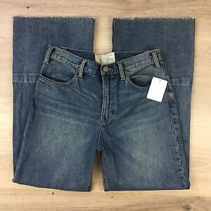 Free People Wide Leg Boot Cut Womens Jeans Sizes 24, 27, 29 & 30 available (BLB)
