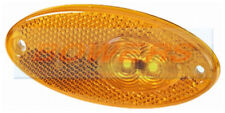 HELLA TEC / GEIST CARAVAN 12V AMBER ORANGE OVAL LED SIDE MARKER LIGHT LAMP