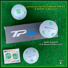 TaylorMade TP5 pix MONEY BALL - NEW Sleeve (3 MONEY Balls) $-$-$