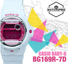 Casio Baby-G Alarm Ladies Sport Watch BG169R-7D