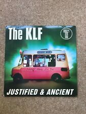"""The KLF – Justified & Ancient - USA - 12"""" vinyl"""