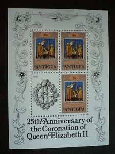 Stamps - Antigua (Barbuda) - Scott# 350 Souvenir Sheet