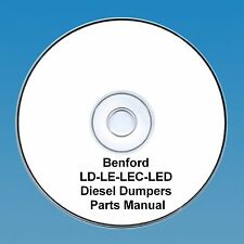 Benford LD - LE - LEC & LED Dumpers - Parts Manual