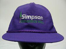 Simpson - Evergreen Mill - Nailon - Talla Única Snapback Ajustable Gorra