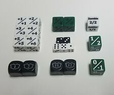 MTG Dice Starter Set / 20 Unique Counters for CCGs like Magic: The Gathering