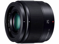 F/S New Panasonic H-H025-K LUMIX G 25mm F/1.7 Lens For M4/3 without box