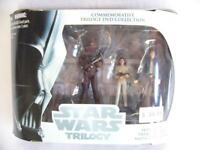 STAR WARS TRILOGY DVD COLLECTION | SOLO LEIA CHEWBACCA | HASBRO 2004