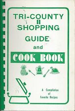 *EASLEY *PIEDMONT SC VINTAGE TRI-COUNTY SHIOPPING GUIDE & COOK BOOK *LOCAL ADS