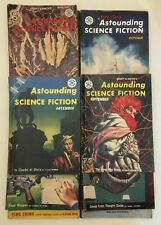 10 x Vintage Astounding Science Fiction Magazines 1955