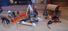 PLAYMOBIL Wild West Cowboys e indiani + PARTS JOB LOT