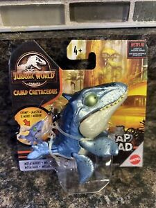 "Jurassic World Snap Squad 2.5"" Mosasaurus Metallic Camp Creataceous Dinosaur"