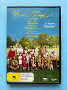 Moonrise Kingdom (DVD Region 2, 4 PAL)