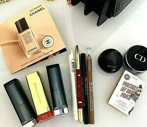 Luxus Make Up Kosmetik Set 11 Teile Chanel DIOR SHISEIDE benefit etc, s. Fotos