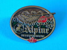 Alpine Helicopters Ltd Canada ~ Crazy Canuck Collectibles ~ 1990-2004 Badge/Pin