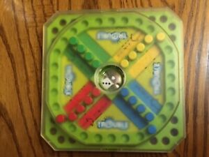 Milton Bradley Trouble Game Travel Size w/ Snap on Cover- 2005
