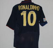 maglia Ronaldinho barcellona away  #10 NIKE 2003 2004 shirt jersey L