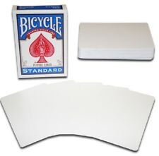 1 DECK Bicycle Double Blank gaff magic playing cards-S104985-5