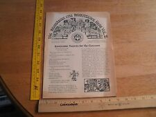The Renaissance Pleasure Faire 1973 California Teachers aid program w/ pictures