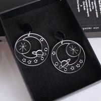 Fashion Cute Cat Sun Moon Planet Drop Dangle Ear Stud Earrings Women Jewelry New
